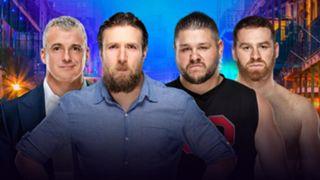 WWE レッスルマニア34 ダニエル・ブライアン マクマホン