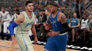 NBA 2K16 Christmas Knicks Magic