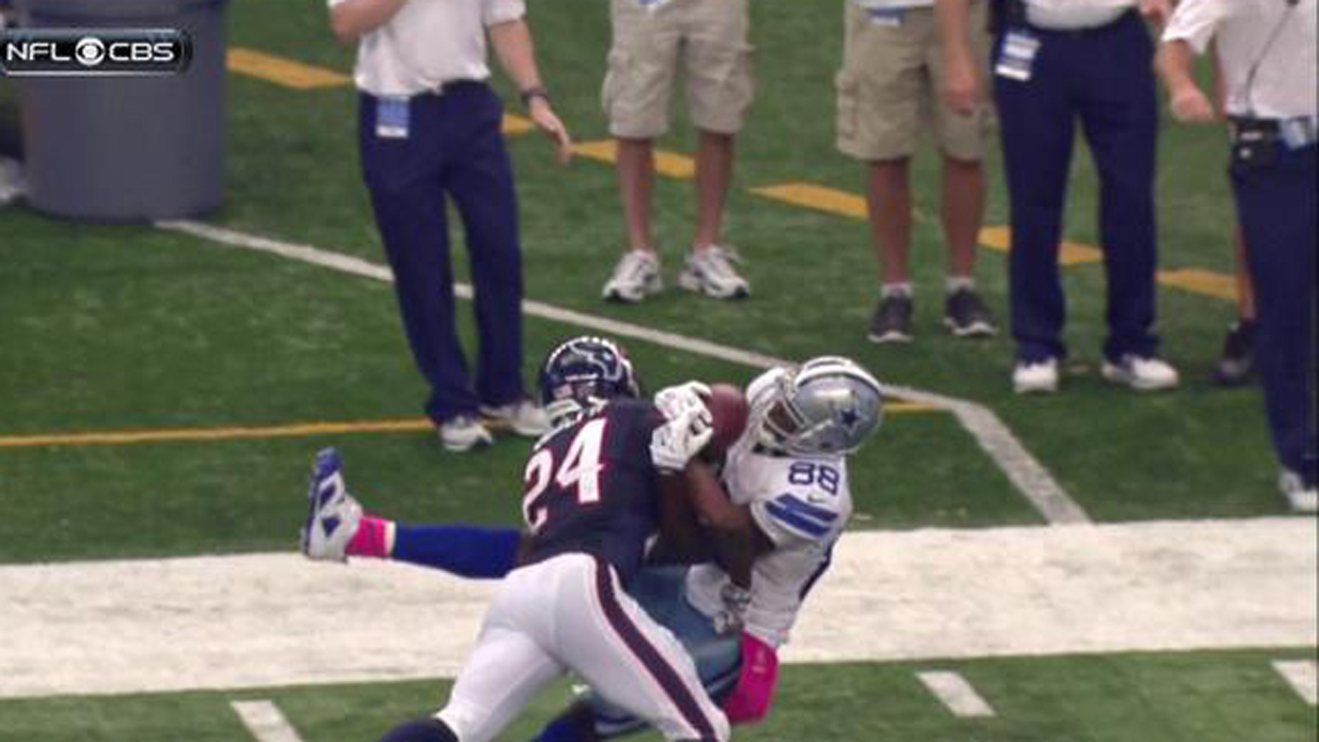 Dez Bryant S Ridiculous Catch Sets Up Game Winning Fg
