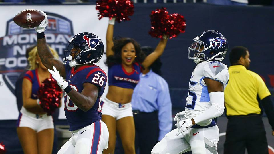 Titans vs. Texans results: Score, highlights from Monday night game