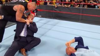 WWE ロウ #1315 ブロック・レスナー