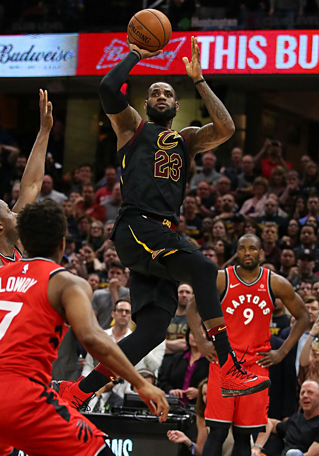 NBA playoffs 2018: LeBron James' game-winner vs. Raptors ...