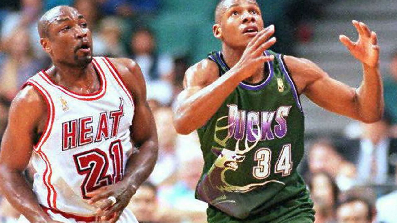 2d8651ff1a7 1990s NBA uniforms, ranked from cartoonish best to technicolor worst    Sporting News