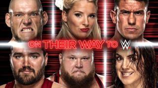 WWE, ロウ, #1334, NXT昇格者