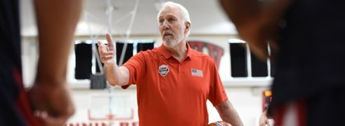 Popovich USA Basketball FIBA