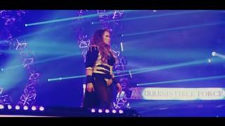 WWE ナイア・ジャックス ロウ 女子王者 ロンダ・ラウジー