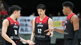 バスケットボール日本代表 渡邊雄太 八村塁 馬場雄大