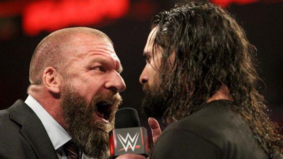 WWE, ロウ, #1336, トリプルHがロリンズに喝を入れる
