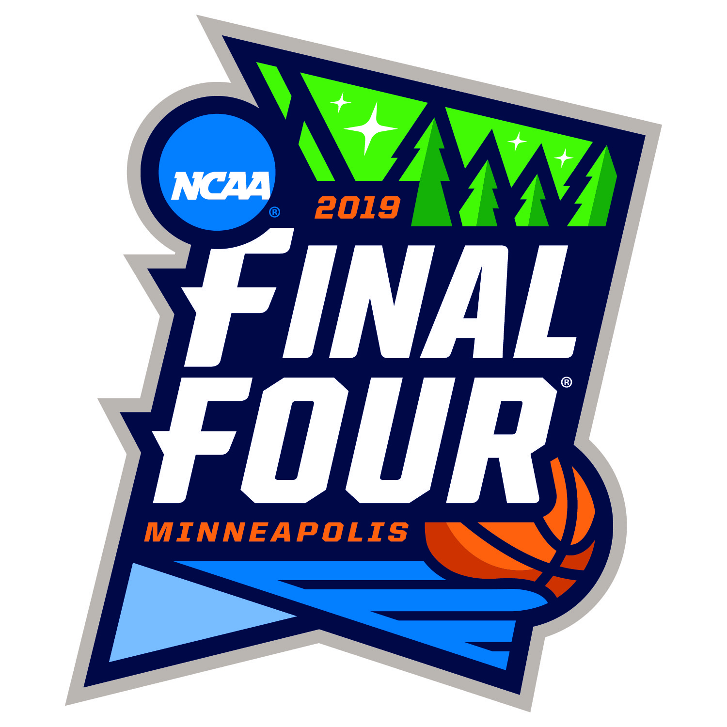 ncaa reveals minneapolis final four logo ncaa basketball sporting news. Black Bedroom Furniture Sets. Home Design Ideas