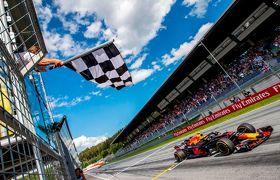 オーストリアGPで優勝したフェルスタッペン