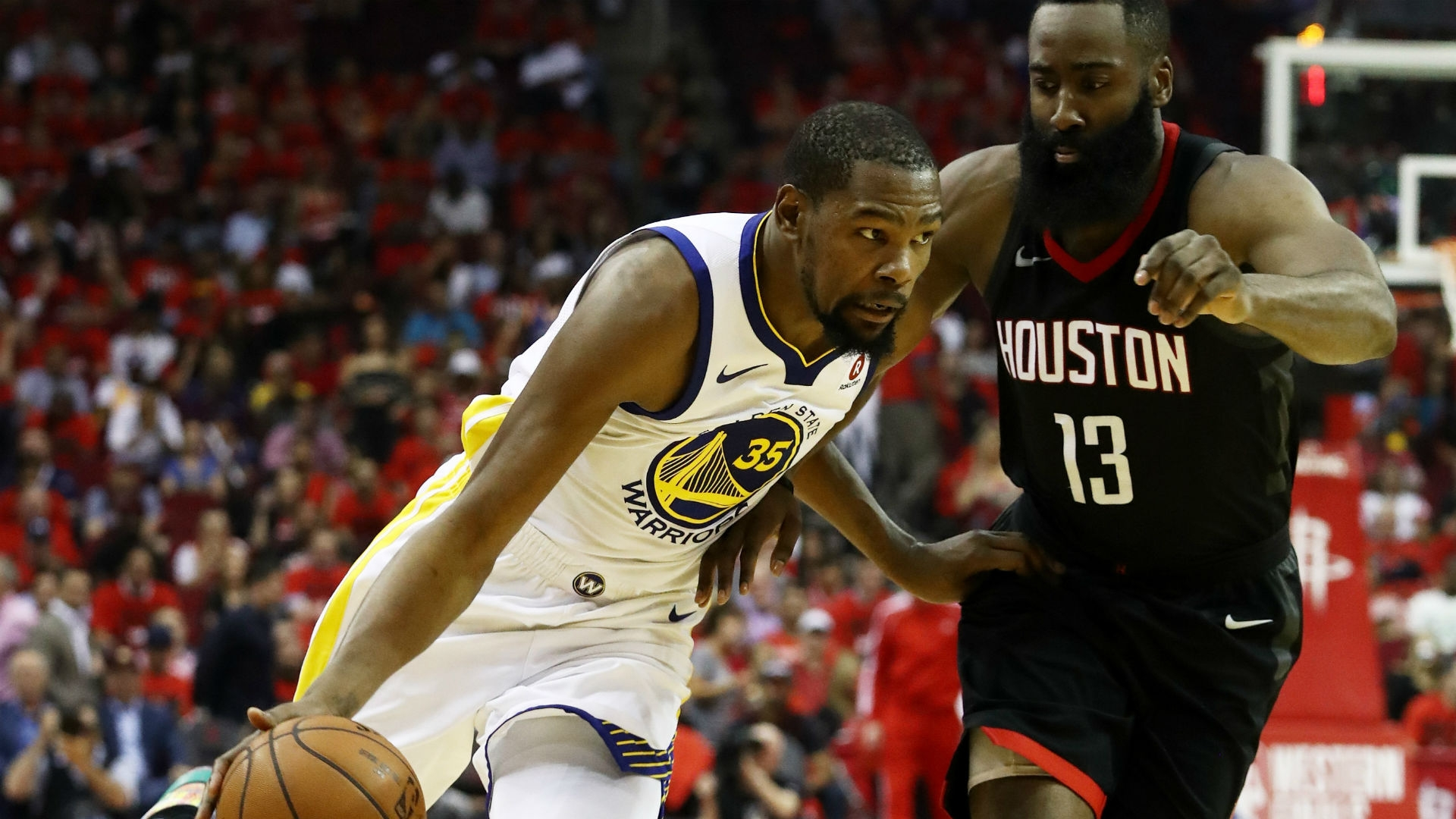 ac4b6a223f9 Why Rockets letting Kevin Durant run wild in isolation might be ...