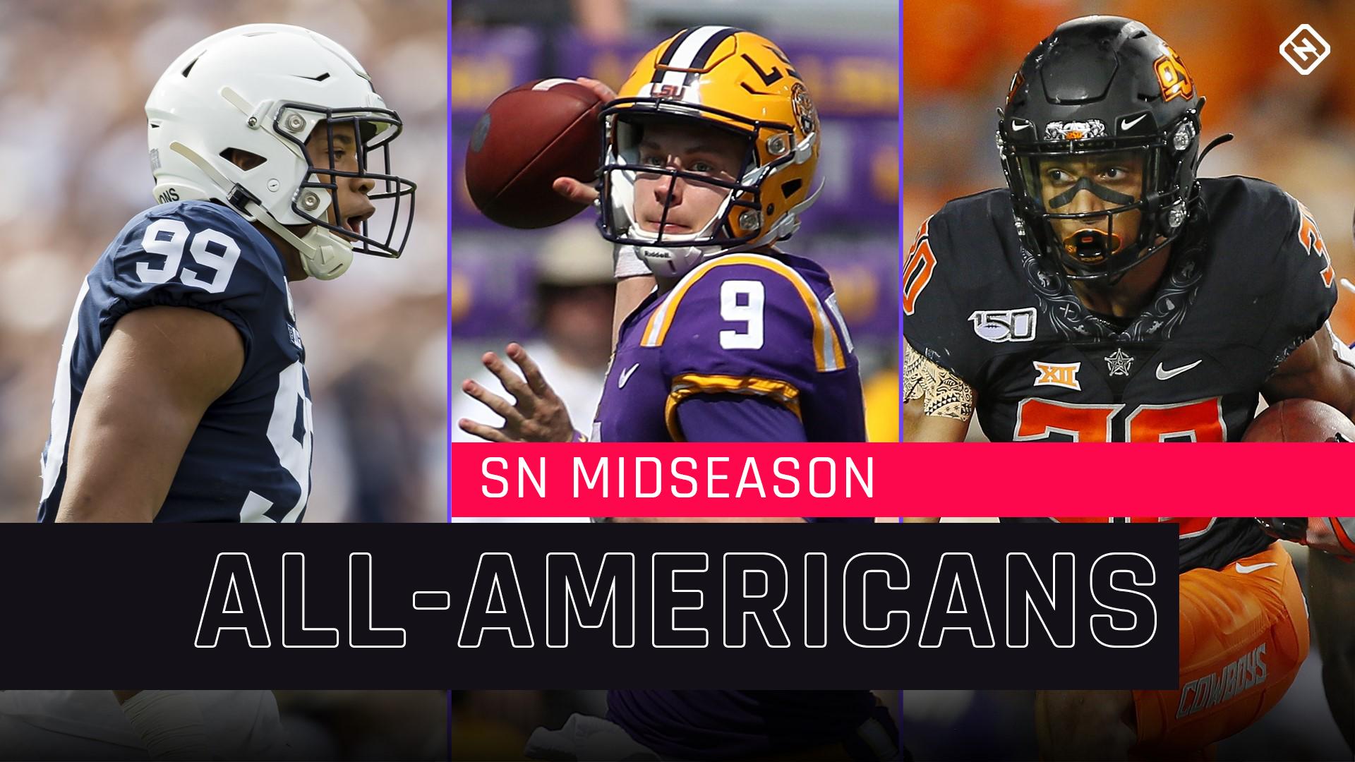 Sporting News 2019 midseason All-Americans