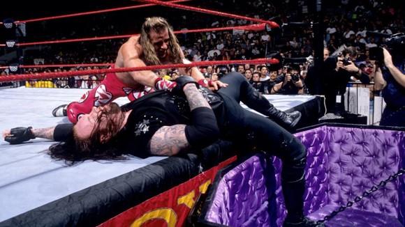 WWE アンダーテイカー 棺桶戦 カスケット