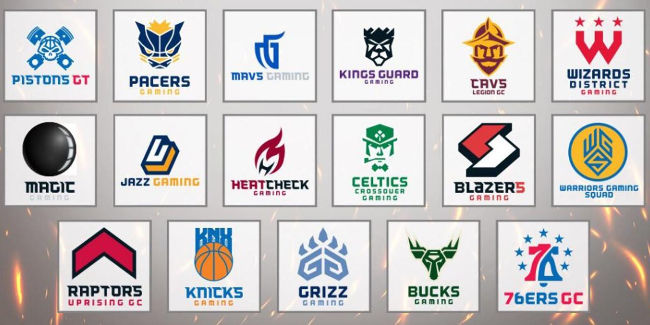 NBA 2K League logos