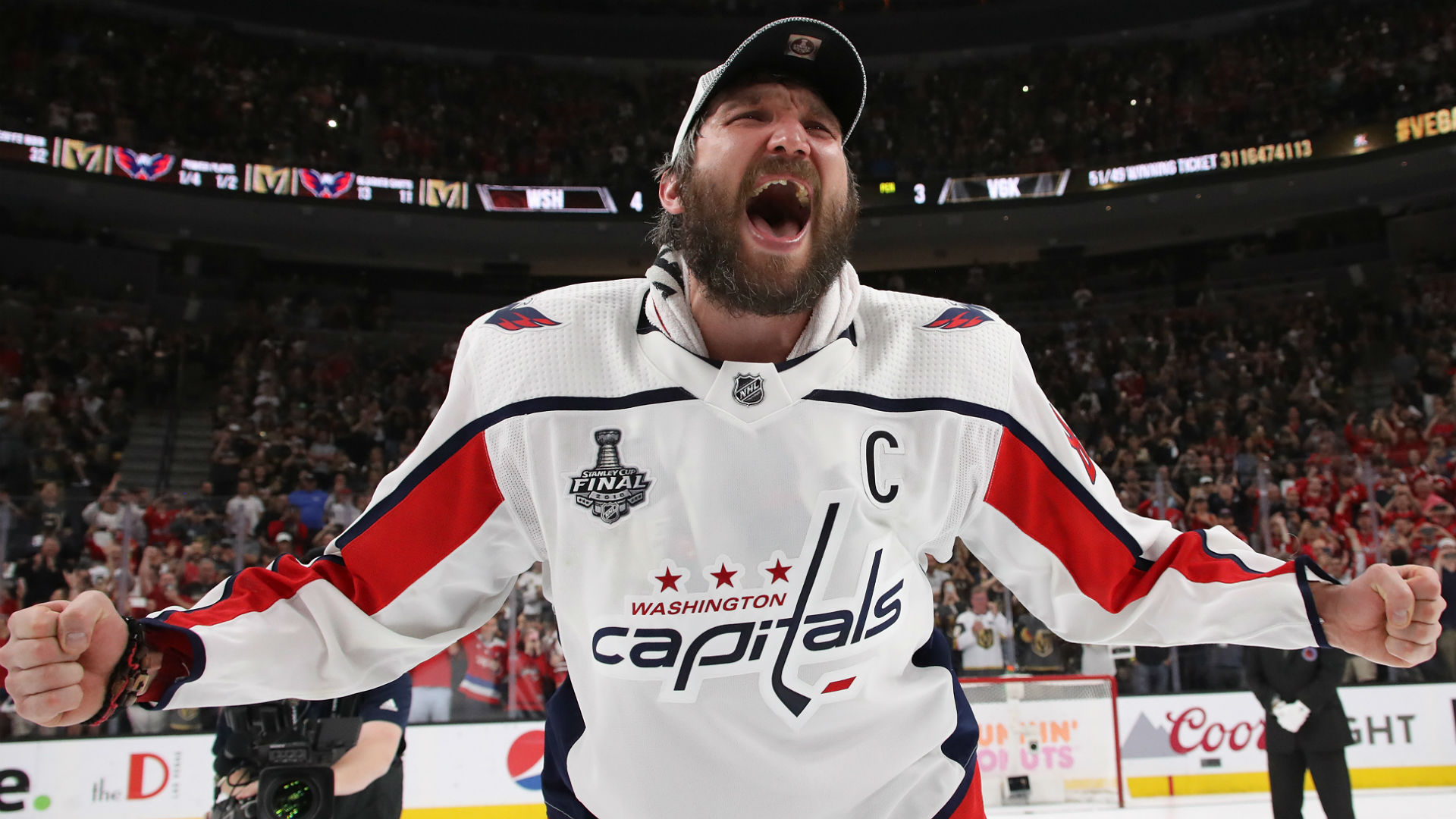 8d8686c43cf Stanley Cup Final 2018  Alex Ovechkin has his moment