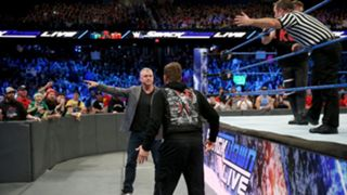 SD958, Shane McMahon hits the scene, and he and the official eject Zayn from ringside!