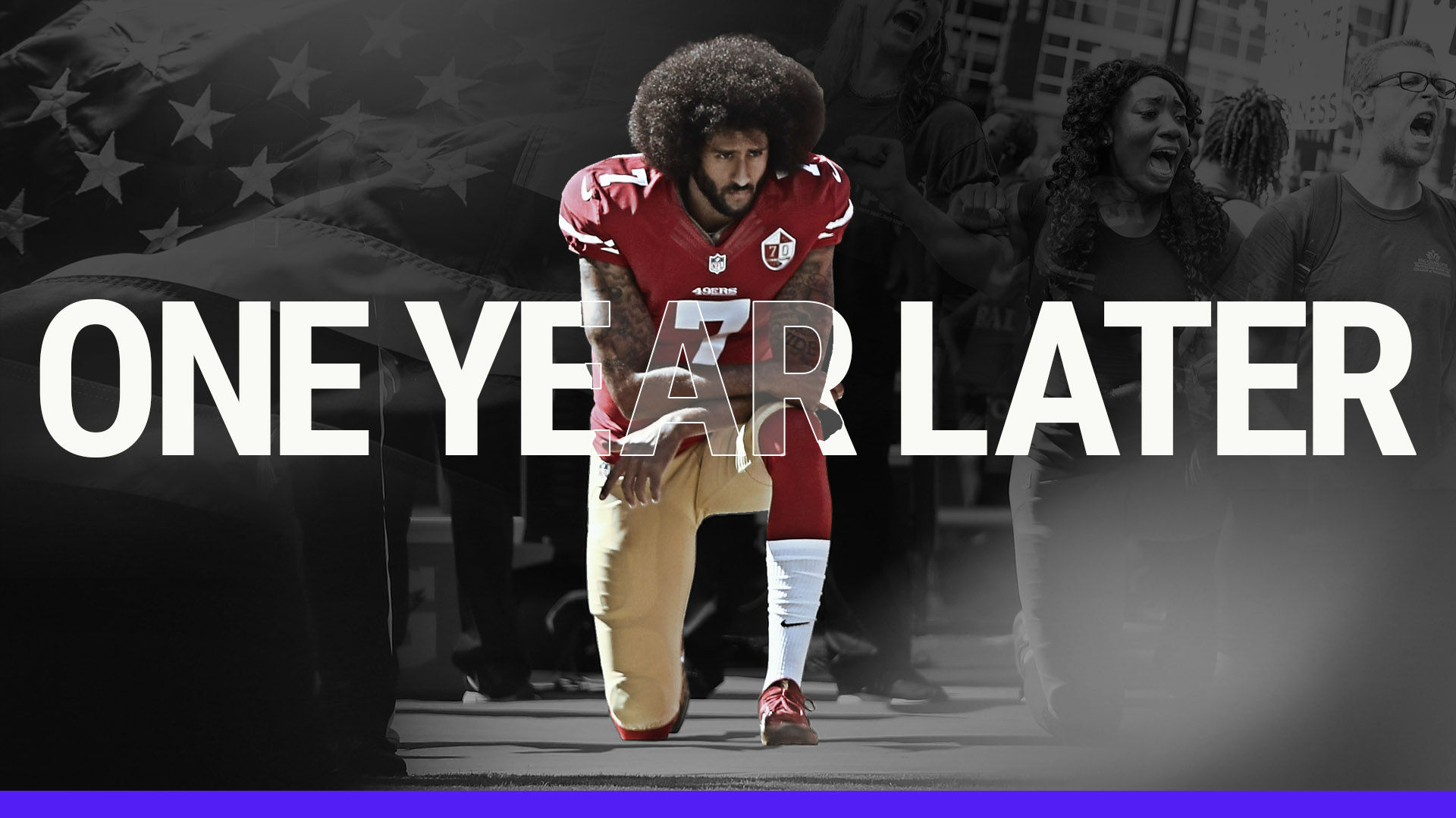 Colin Kaepernick Timeline Looking Back At Year Of National Anthem