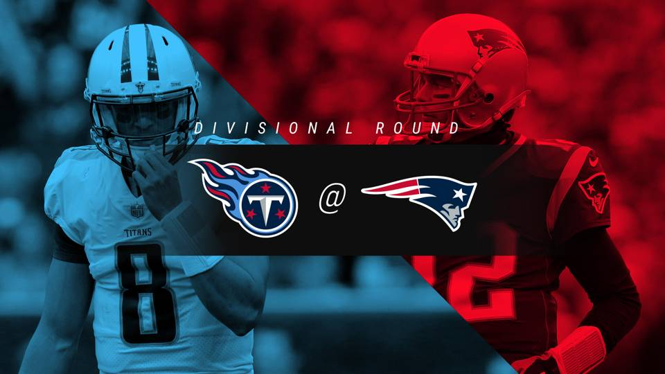 Titans vs. Patriots: Rating, live updates from divisional playoff game in New England