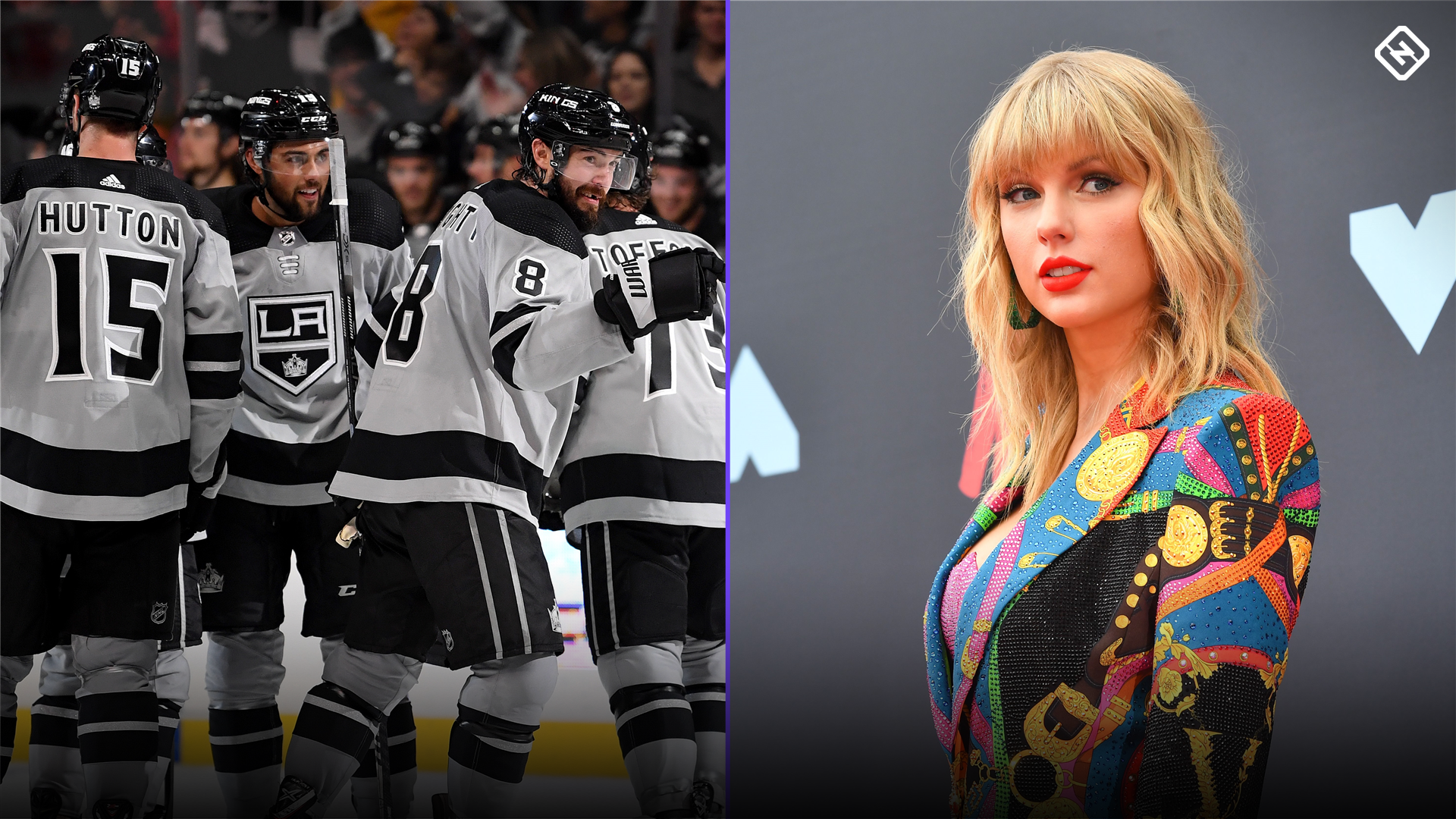 Kings cover up Taylor Swift banner to shake off superstition