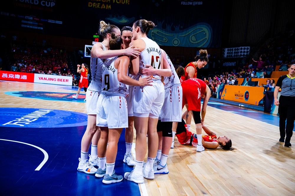 Belgium FIBA Women's Basketball World Cup