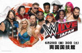 WWE 日本公演 2018 6月 アスカ
