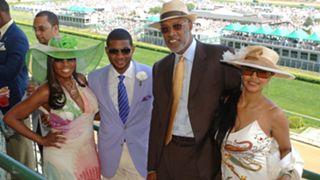 Star Jones, Usher, Julius and Dorys Erving