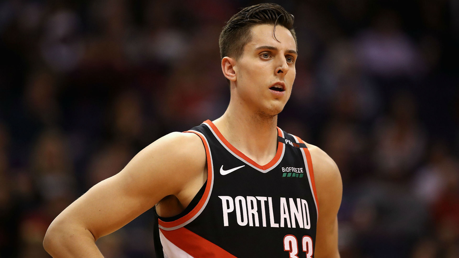 Who is Zach Collins, and why are the Warriors mad at him