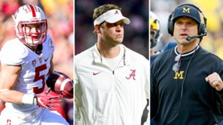 Christian McCaffrey-Lane Kiffin-Jim Harbaugh-012616-GETTY-FTR.jpg