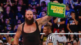 WWE サマースラム ブラウン・ストローマン vs. ケビン・オーエンズ