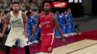 NBA 2K16 Christmas Pistons Raptors