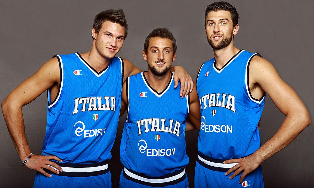 Gallinari Belinelli Bargnani FIBA