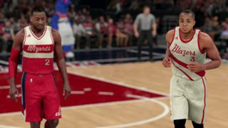 NBA 2K16 Christmas Wizards Blazers