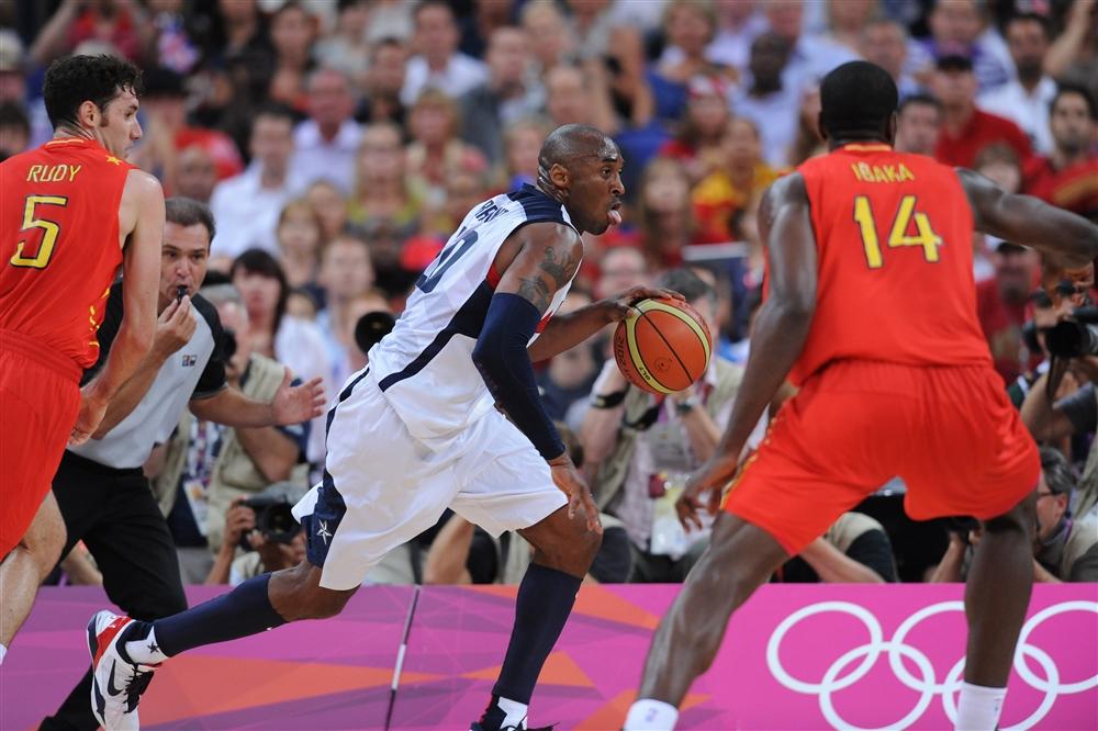 Kobe Bryant Spain USA Basketball FIBA