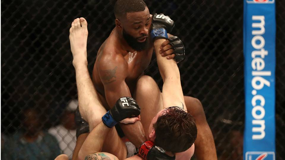 UFC 228 results: Tyron Woodley submits Darren Till to retain welterweight champion