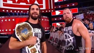 WWE ロウ #1317 ディーン・アンブローズ復帰戦