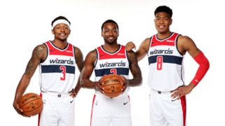 Bradley Beal John Wall Rui Hachimura Washington Wizards