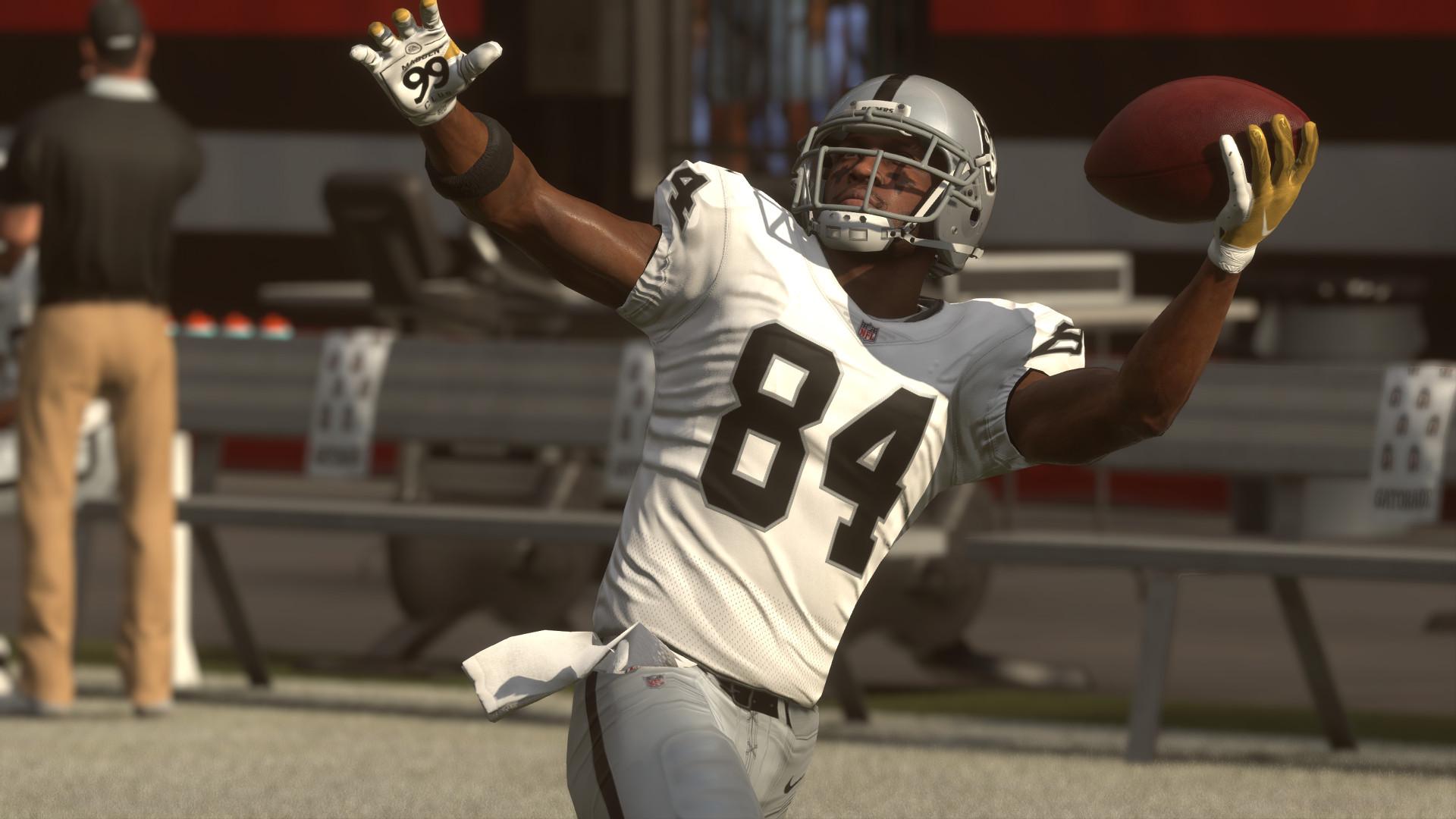 Madden NFL Antonio Brown Oakland Raiders