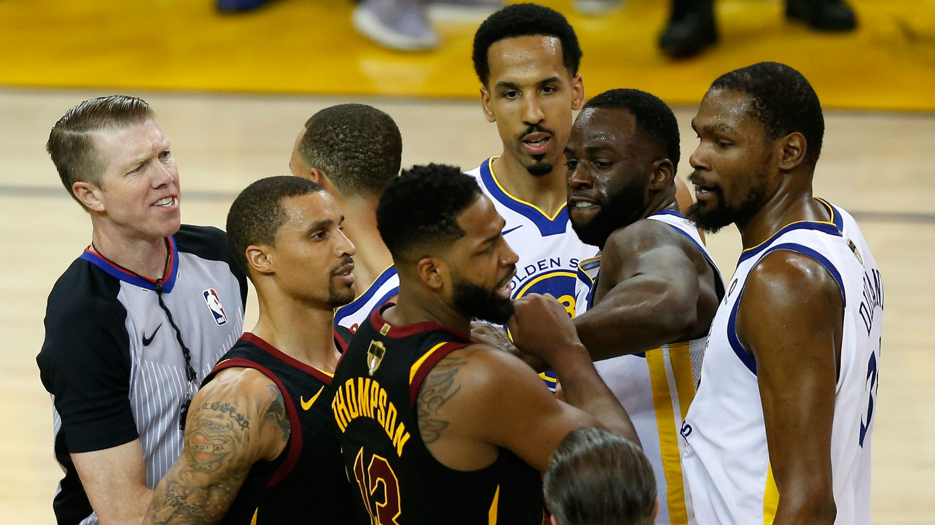 2eb856172d5 Did Draymond Green, Tristan Thompson fight at ESPYs party? Latest details  on reported scuffle