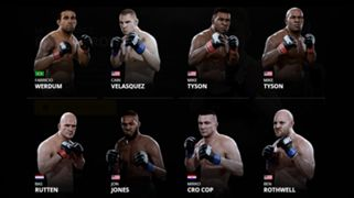 EA Sports UFC 2 Heavyweights