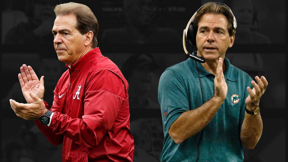 NFL failure to NFL manufacturing unit: How Nick Saban created football's best assembly line