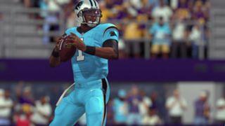 Color Rush Carolina Panthers Madden NFL 17