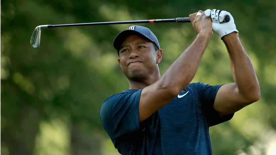 Tiger Woods' score, live updates from PGA Championship Round 2