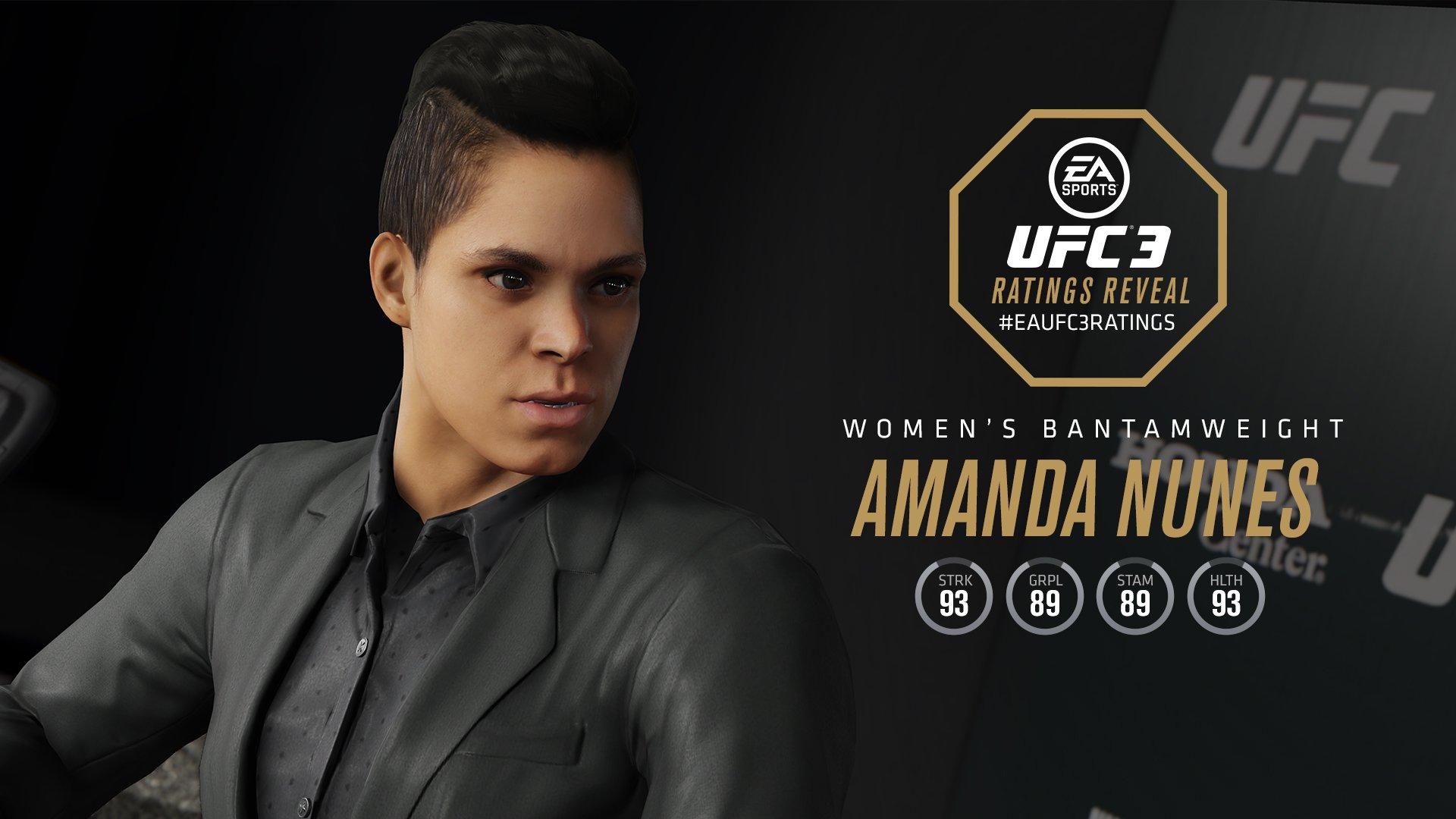 EA Sports UFC 3 Amanda Nunes