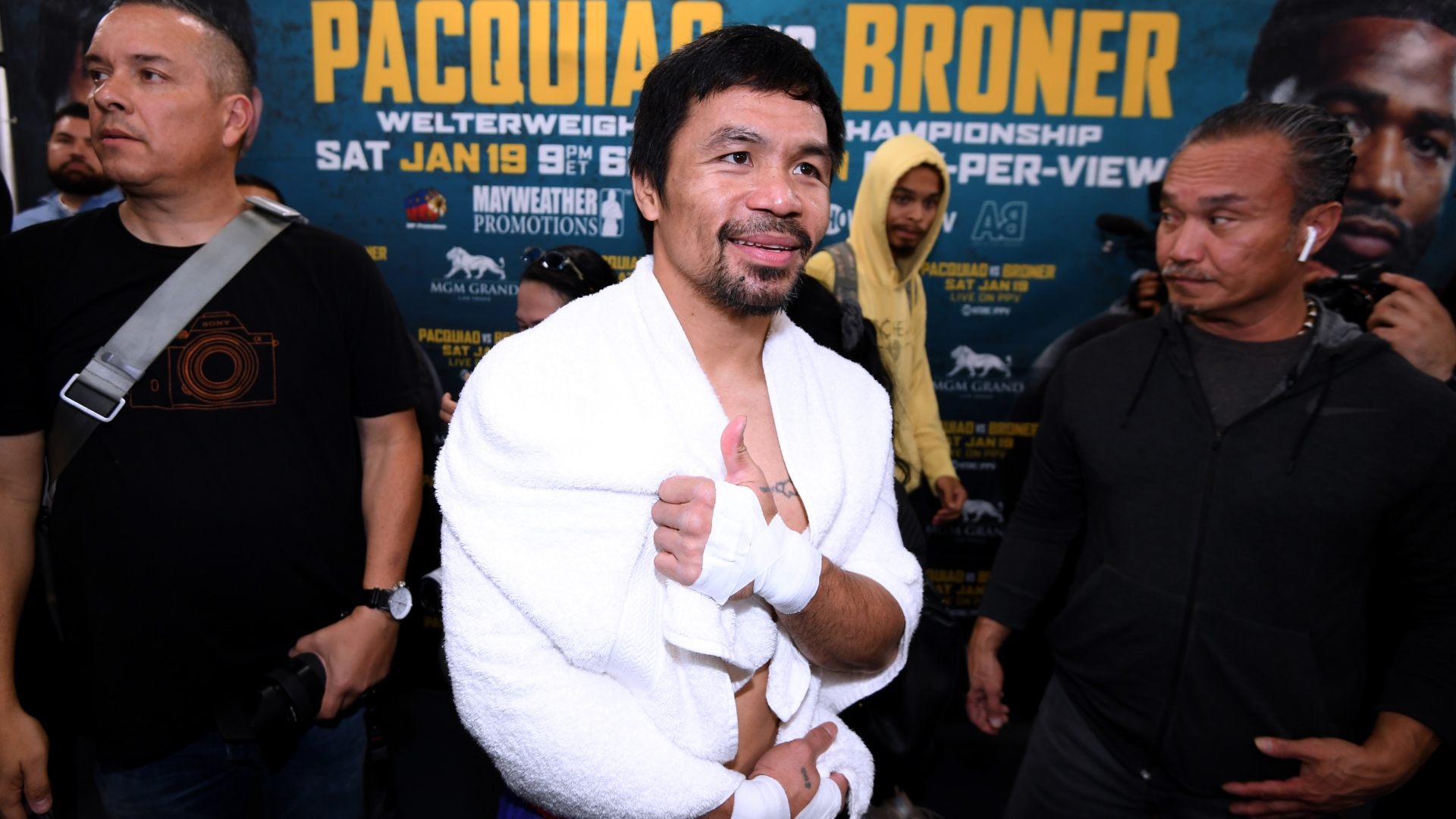 Pacquiao vs. Broner: Manny Pacquiao reflects on where he's been, looks ahead to where he's going