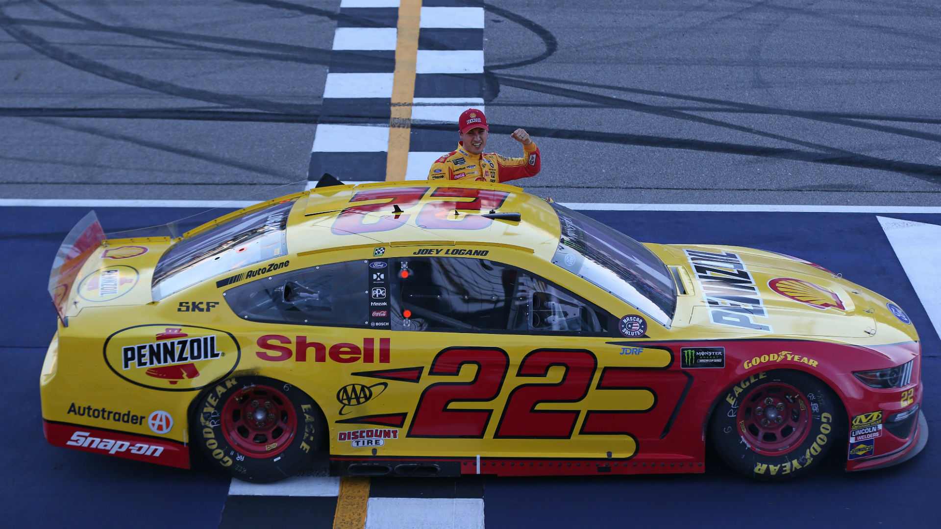 NASCAR results at Michigan: Joey Logano dominates FireKeepers Casino 400, wins in OT