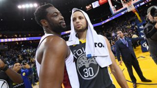 Stephen Curry Golden State Warriors Dwyane Wade Miami Heat