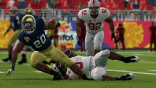 NCAA Football 14 Fiesta Bowl Notre Dame Ohio State