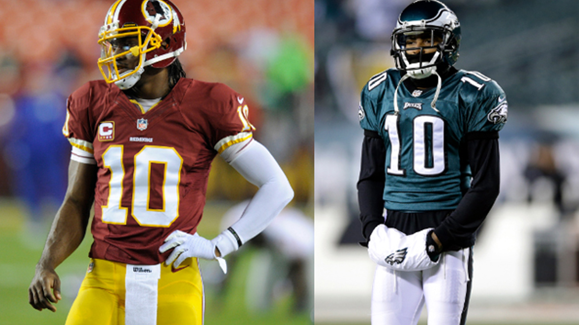 97a9398af02 Robert Griffin III is not giving his No. 10 jersey to DeSean Jackson |  Sporting News