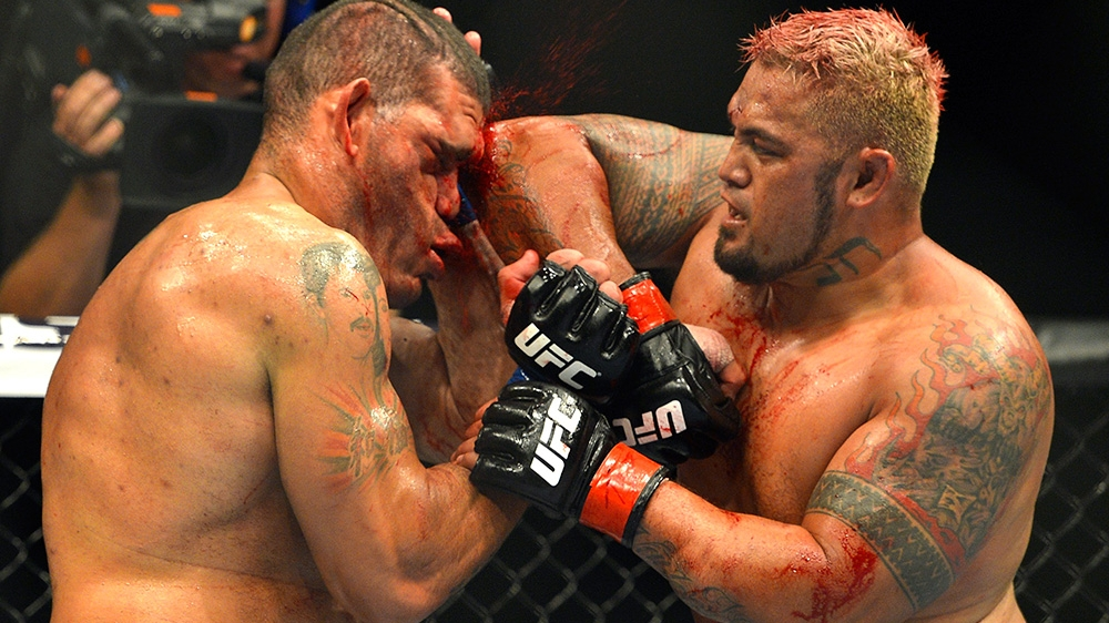 UFC Moscow: Mark Hunt blasts Brock Lesnar, calls him a 'cheater'