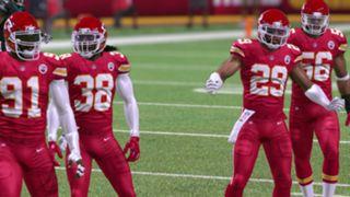 Color Rush Kansas City Chiefs Madden NFL 17